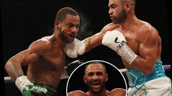 Kid Galahad sets up title re-match with Yorkshire rival Josh Warrington with classy demolition of Claudio Marrero – The Sun