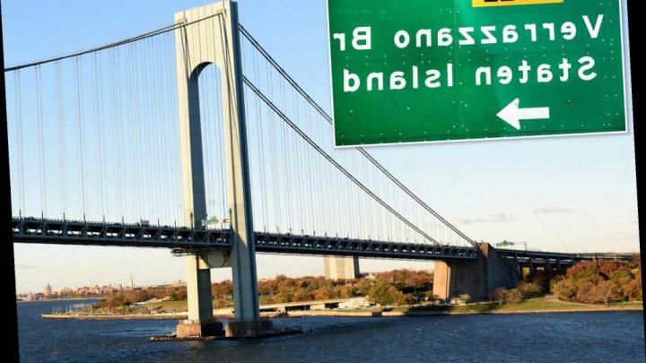 MTA workers finally add second 'Z' to Verrazzano Bridge sign
