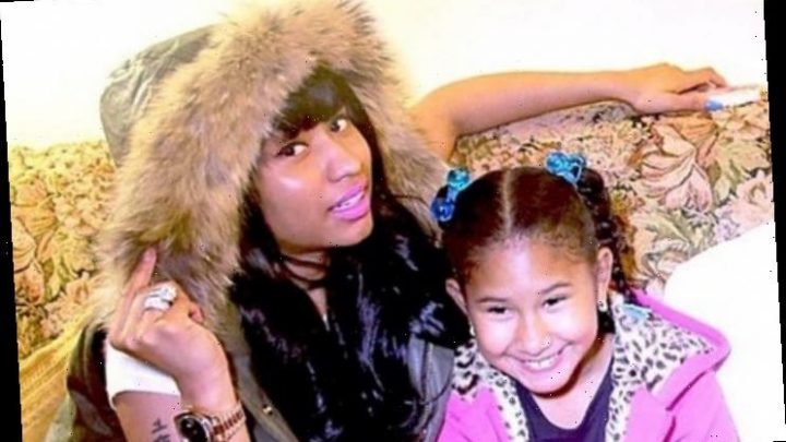 Nicki Minaj's Sister Ming Maraj Is the Spitting Image of Herself in Rare Family Footage