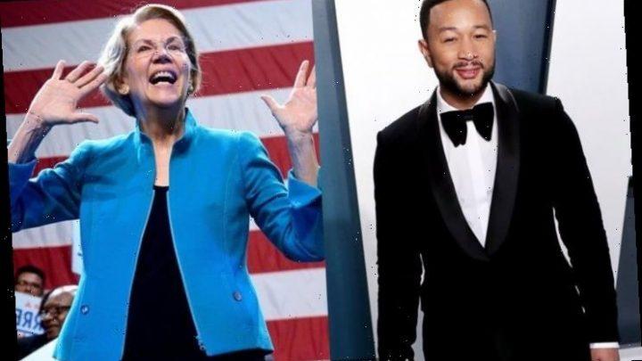 John Legend to Support Elizabeth Warren's Campaign in South Carolina