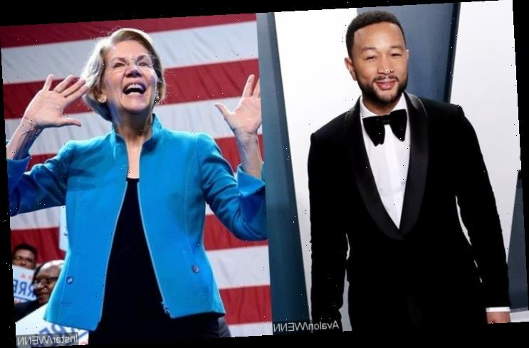 John Legend to Support Elizabeth Warren's Campaign in South Carolina