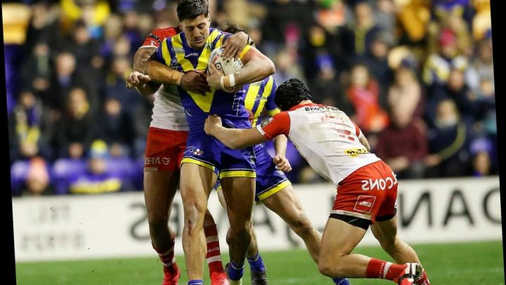 Anthony Gelling 'unavailable for selection' as Warrington Wolves stand down centre pending investigation