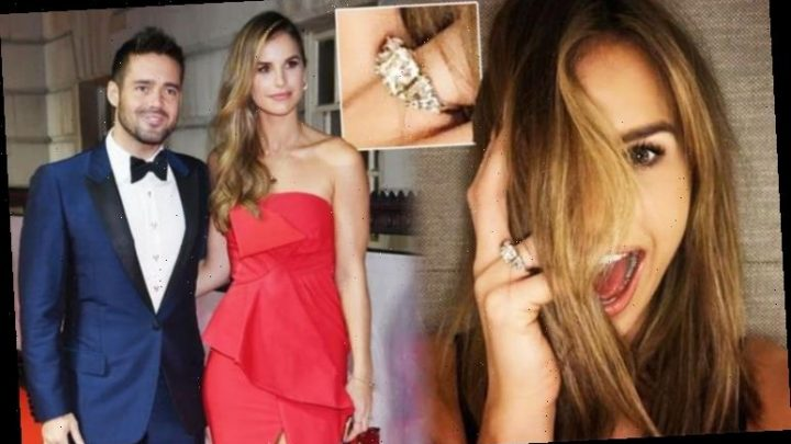 Vogue Williams engagement ring: How much is the diamond jewel from Spencer Matthews worth?