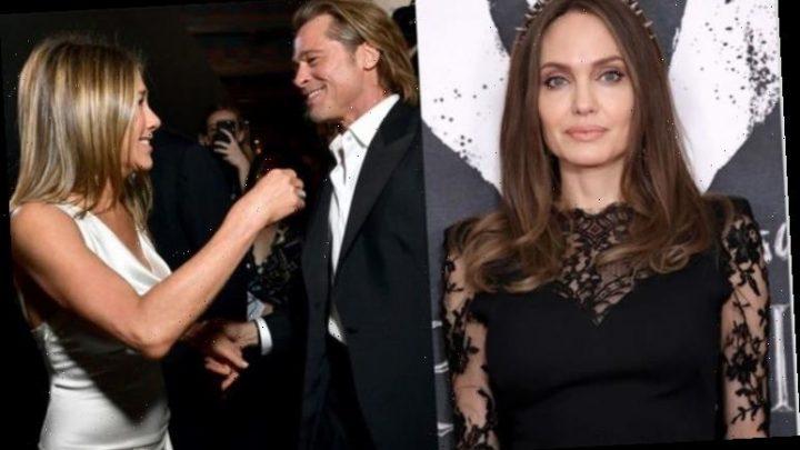 Angelina Jolie 'hurt' over Brad Pitt and Jennifer Anniston reunion