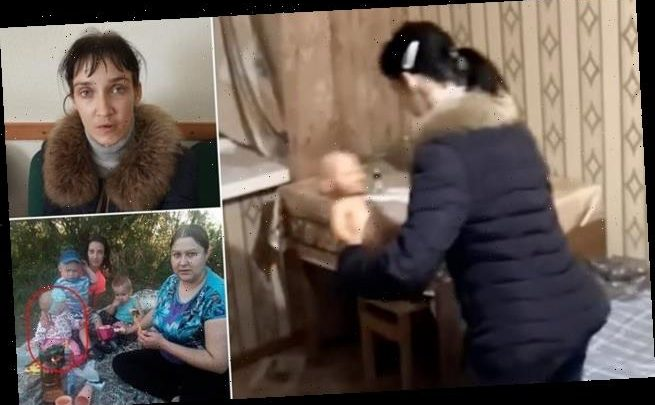 Jailed Russian mum killed daughter by stuffing bread in her mouth.