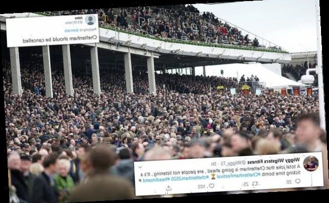 Social media users question why Cheltenham Festival is on