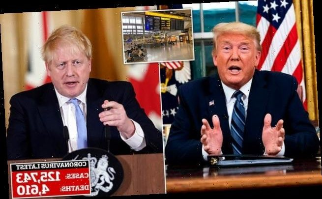Will Britain now ban flights from EU like Donald Trump has?