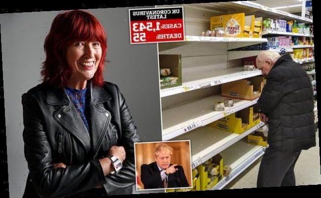 JANET STREET-PORTER: Please don't lock me up, Boris Johnson