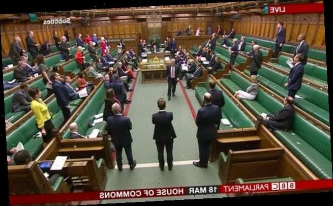 Stripped back House of Commons meets for PMQs