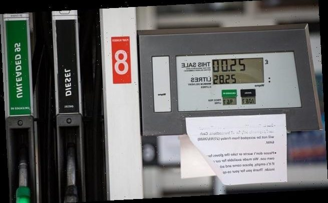 Fuel prices plummet with petrol dropping 8p in just seven days