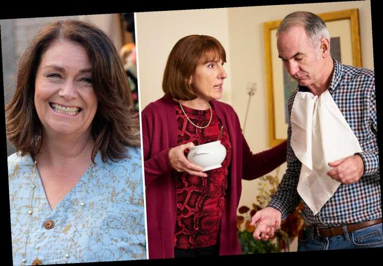 The Trouble With Maggie Cole leaves ITV viewers in stitches with epic Friday Night Dinner crossover