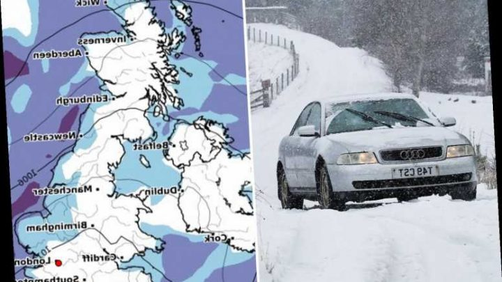 UK weather forecast – Snow and heavy rain to batter Britain again today as cold snap grips country – The Sun