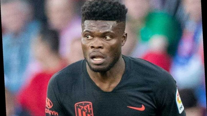 Arsenal transfer blow with £45m target Thomas Partey set to sign new deal with Atletico 'imminently' – The Sun