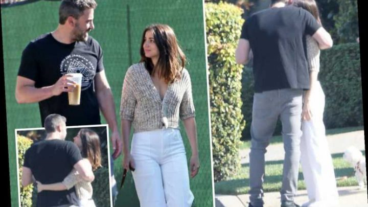 Ben Affleck looks loved-up with new flame Ana de Armas on dog walk in LA despite lockdown – The Sun