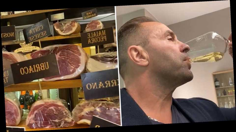 See Everything Joe Giudice Is Eating in Italy: Wine, Gelato and More