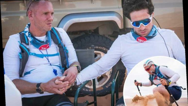 Nick Grimshaw nearly died in front of me on our 100-MILE desert challenge for Sport Relief – The Sun