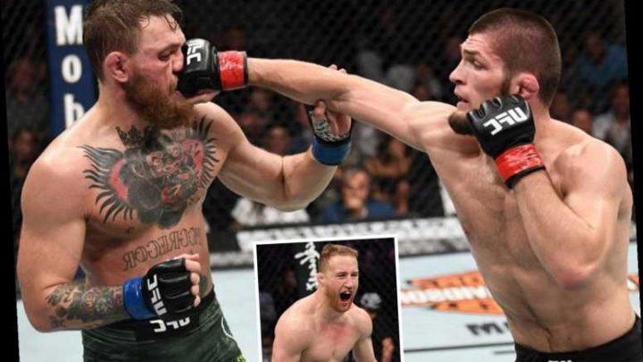 Khabib Nurmagomedov refuses to rematch against Conor McGregor until UFC star beats Justin Gaethje – The Sun