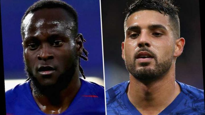 Chelsea ready to raise £30m from Emerson and Moses sales as they step up search for new left-back – The Sun