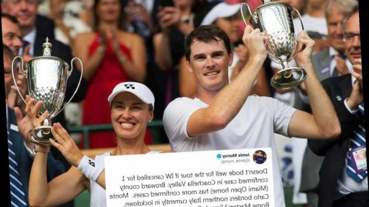 Jamie Murray fears Wimbledon and French Open are under threat after Indian Wells axed due to coronavirus outbreak – The Sun