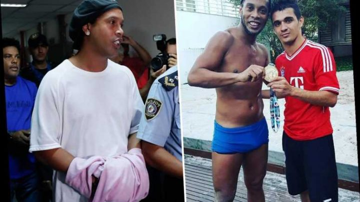 Ronaldinho 'sad and angry but smiling' in prison but vows to NEVER come back to Paraguay after fake passport arrest – The Sun