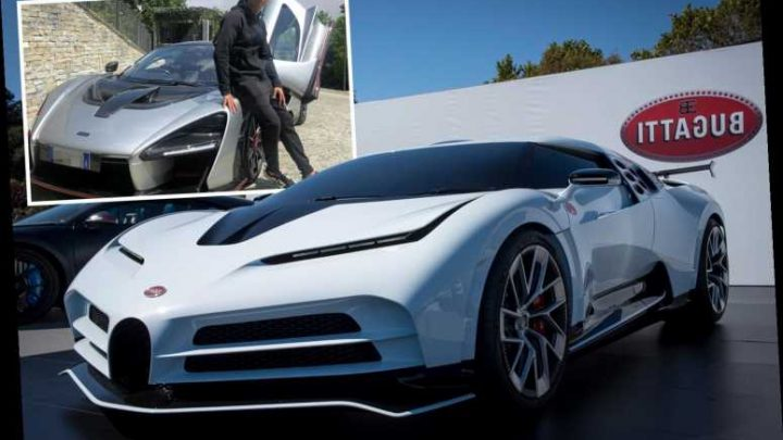 Cristiano Ronaldo 'splashes out £8.5m on limited edition Bugatti Centodieci' – with just ten models ever created – The Sun