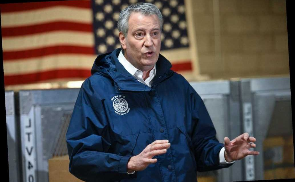De Blasio says city agencies will cut 'at least' $1.3B amid coronavirus