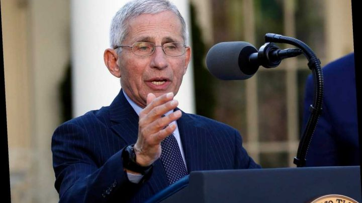 Anthony Fauci says social distancing is 'dampening' coronavirus spread