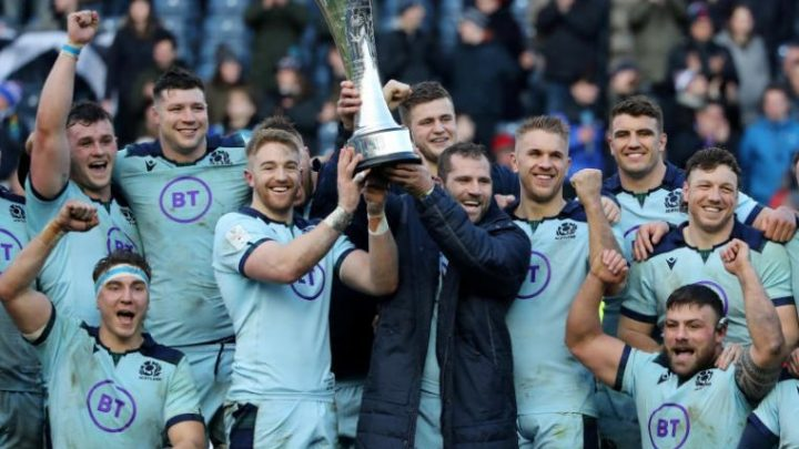Rugby: Scotland crush France's Grand Slam dream after Haouas sees red