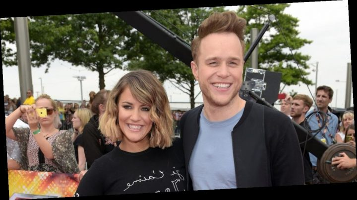 Olly Murs brings fans to tears as he watches old clips of funny The X Factor entrances with Caroline Flack