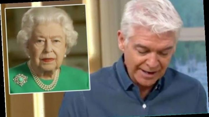 Phillip Schofield makes emotional Queen confession: 'Brought a tear to my eye'