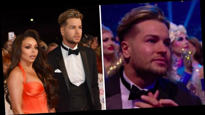 Chris Hughes supported Jesy Nelson at NTAs in last public appearance before split