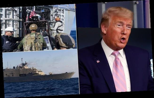 Donald Trump sends Navy ships to crack down on drug traffickers