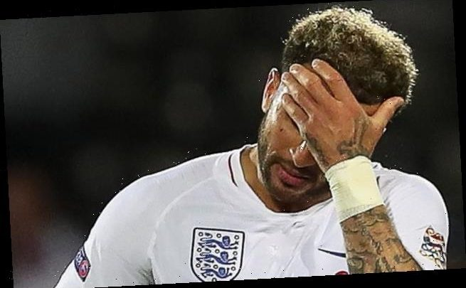 Kyle Walker faces NEVER playing for England again