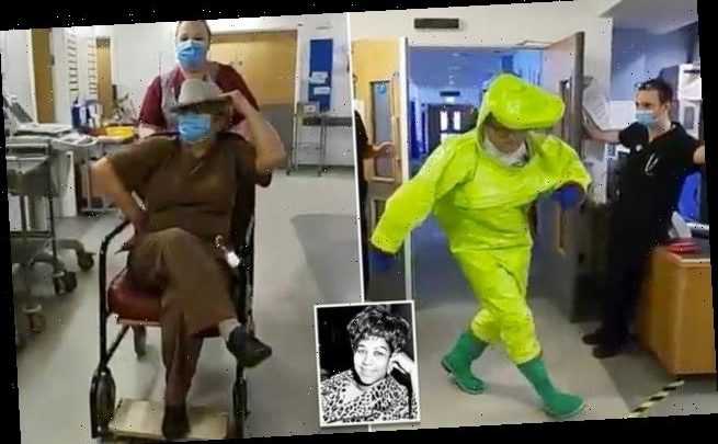 A&E medics film themselves dancing to Aretha Franklin's Respect