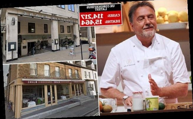 TV chef Raymond Blanc goes to war with insurance firm Hiscox