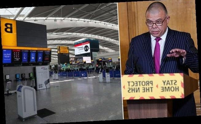 Senior Government adviser says screening at airports would be useless