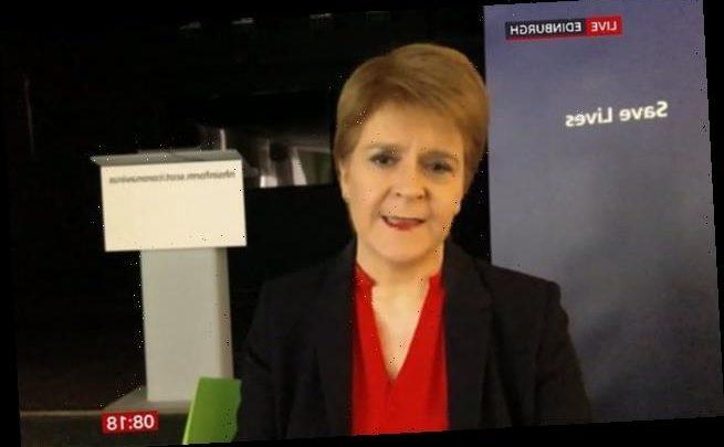 Nicola Sturgeon issues lockdown warning to Boris Johnson