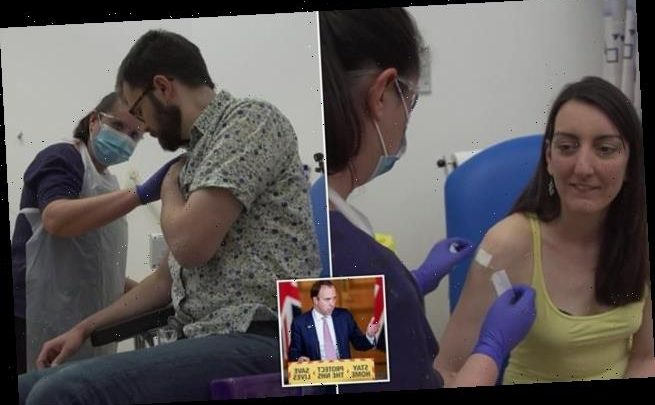 Matt Hancock announces coronavirus drug has progressed in human trials