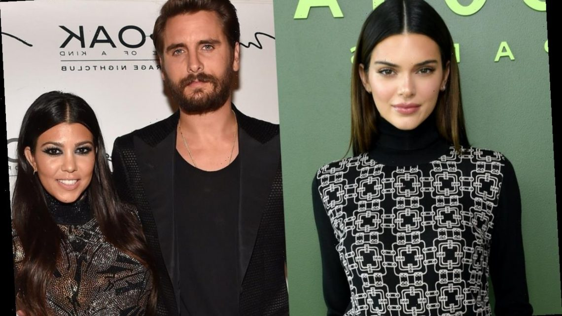Why Are Kourtney Kardashian & Her Sisters Fighting? Kendall Jenner Blames Scott Disick