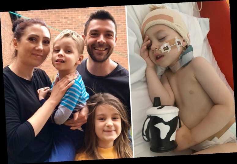 My son, three, has cancer and is living out his final days in lockdown – think of kids like him when you're sunbathing