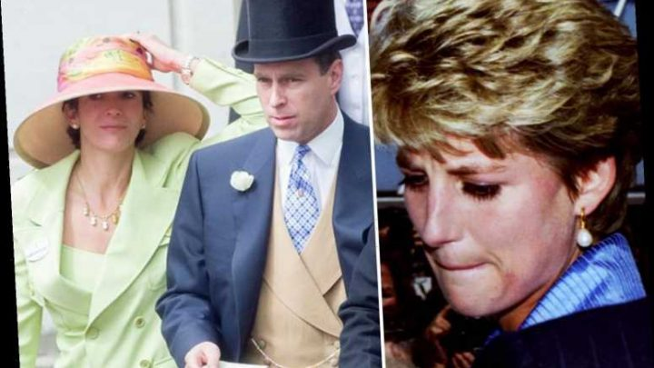 Prince Andrew's pal Ghislaine Maxwell 'boasted about teasing Princess Diana and making her cry' – The Sun