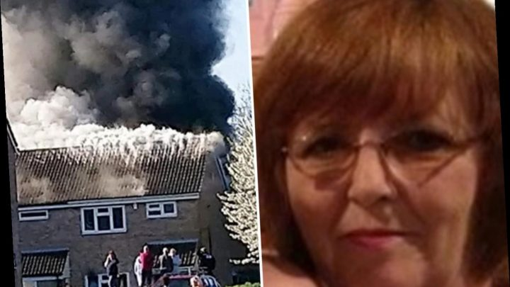 Gran with suspected coronavirus burnt to death as sparks from oxygen tank medics used to treat her set fire to armchair