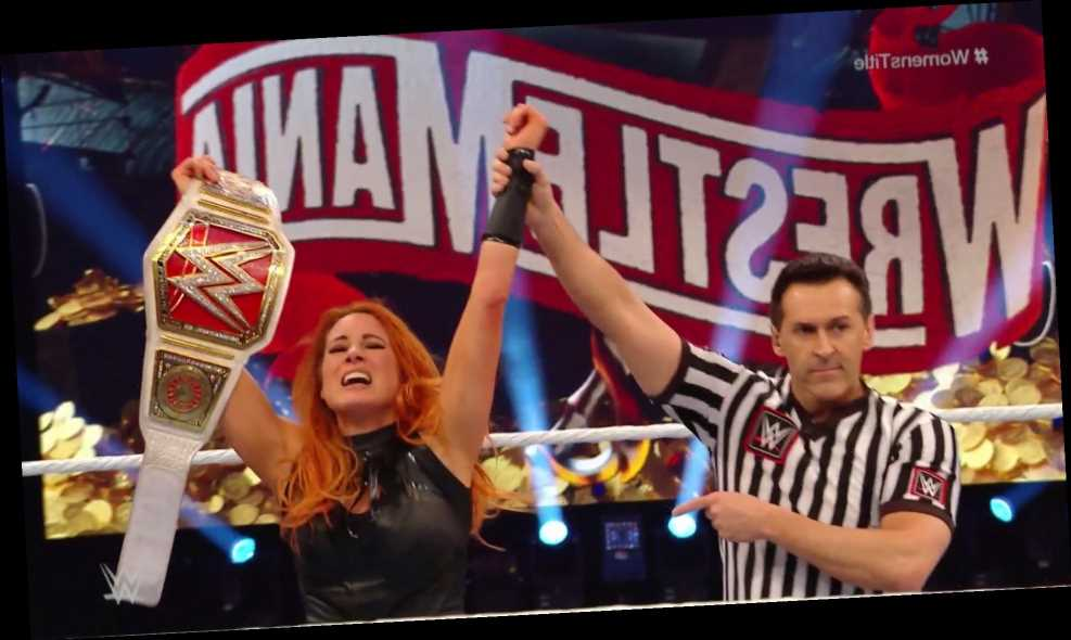 WrestleMania 36 results: Becky Lynch retains Raw Women's Title against Shayna Baszler but fans are left fuming – The Sun