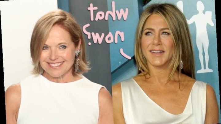 Shade Or No Shade?? Katie Couric Was NOT Impressed With Jennifer Aniston's Morning Show Performan