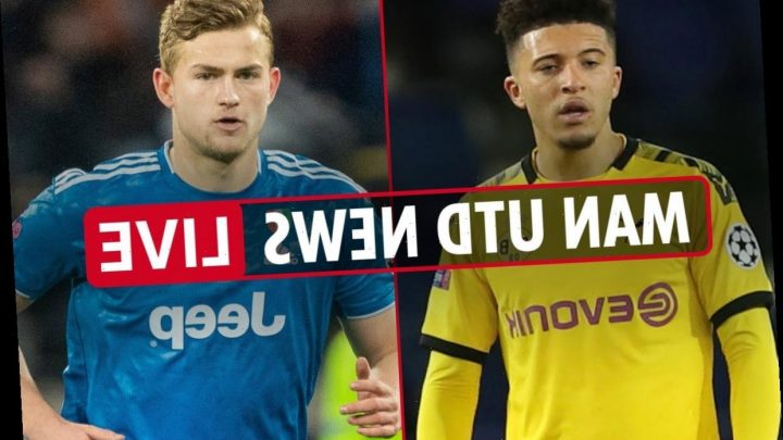 7am Man Utd news LIVE: Jadon Sancho transfer LATEST, Matthijs de Ligt's father-in-law discusses move, Ighalo on future – The Sun