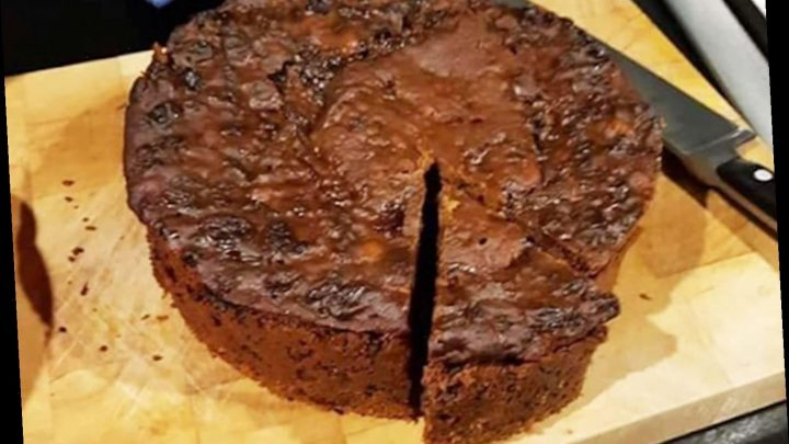 People are making coffee-flavoured fruit cake in their slow cookers and you only need three ingredients