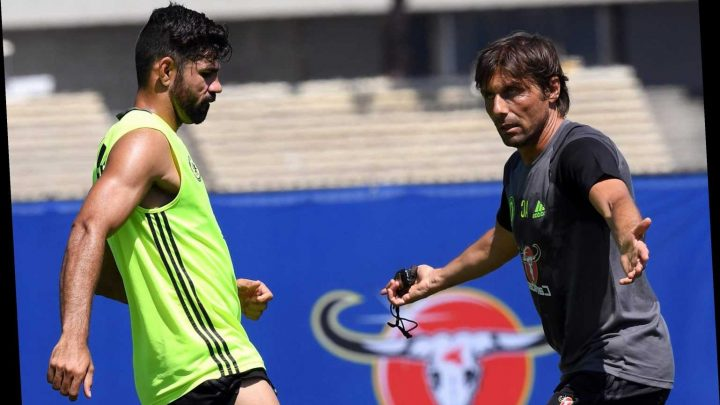 Chelsea hero Costa takes fresh swipe at old foe Conte and says 'suspicious' boss wouldn't last a season at Real Madrid – The Sun