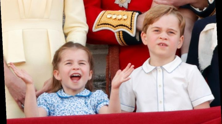Prince George & Charlotte send 'chatty' videos to the Queen and Charles during lockdown & talk on the phone too