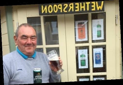 Wetherspoons fan misses local boozer so much in lockdown he creates pub in back garden – The Sun