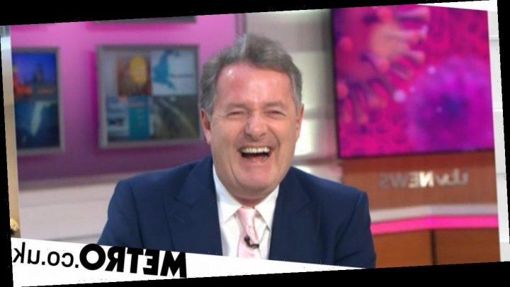 Piers Morgan refuses to stand up as he 'goes commando' on GMB